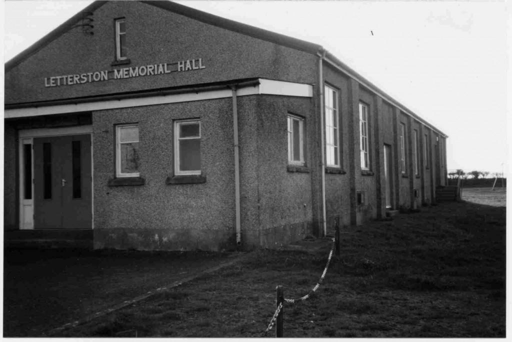 Hall building 1961-2000